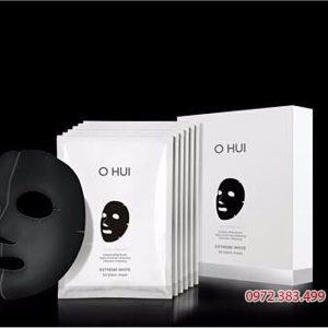 Mặt nạ trắng da Ohui Extreme White 3D Black Mask Snow vitamin.