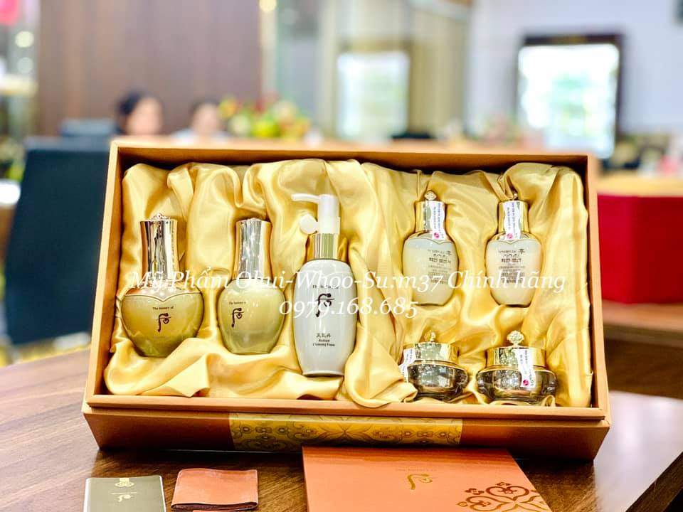 🏵TINH CHẤT VÀNG 🏵WHOO HWA HUYN GOLD AMPOULE – Best Seller